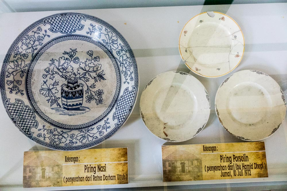 Rice plate and porcelain set