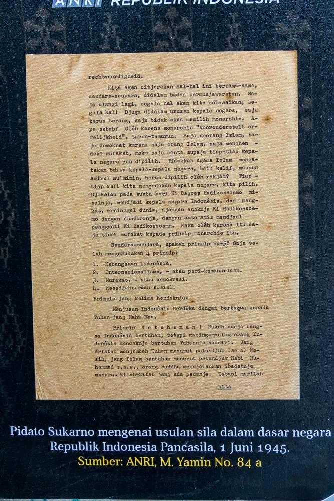 Fragment of Pancasila