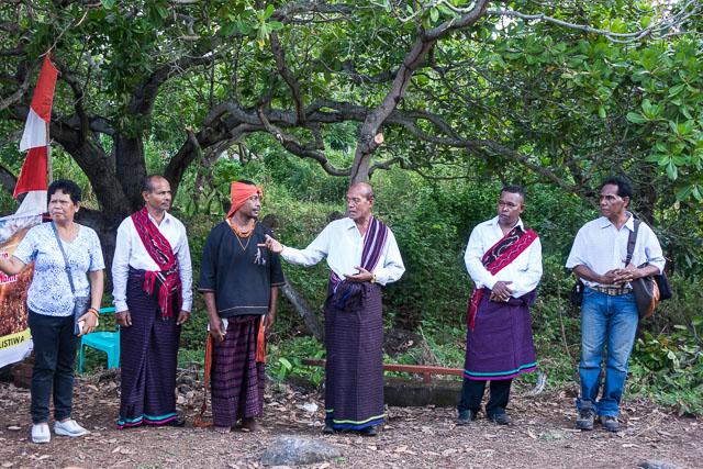 Larantuka village welcome