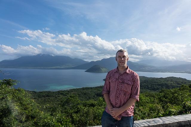 Spoiling the view of Pulau Konga