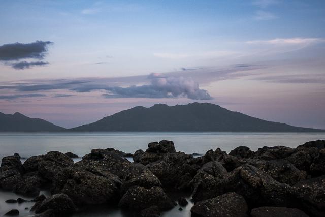 Sunset near Larantuka