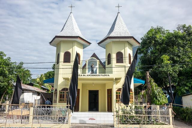 Church in Larantuka