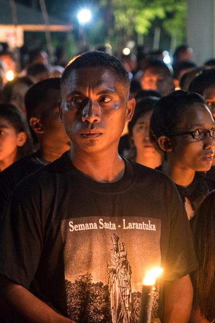 Light up Semana Santa in Larantuka
