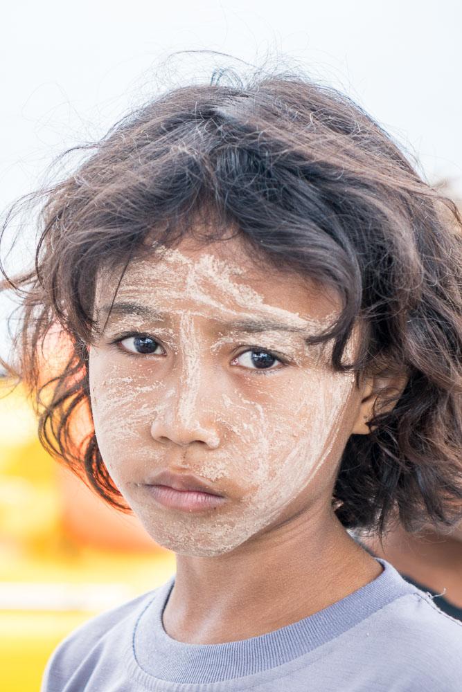 Village girl #4