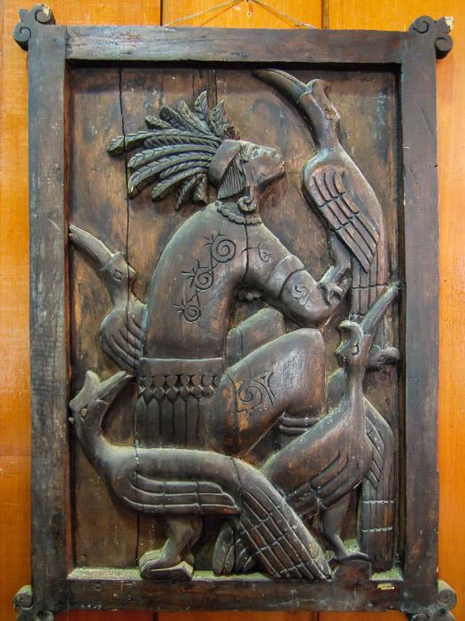 Dayak woodcarving