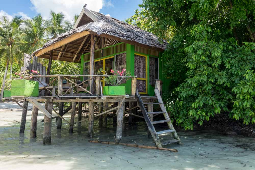 Stilt house lodge