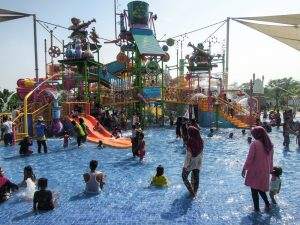 Kids area at Go Wet Waterpark Grand Wisata Bekasi