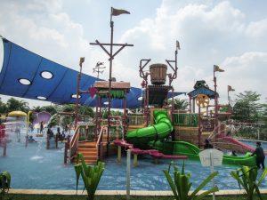 Smaller kids pool at Go Wet Waterpark Grand Wisata Bekasi