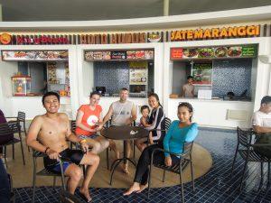Hungry sliders at Go Wet Waterpark Grand Wisata Bekasi