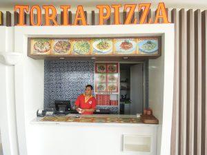 Pizza and Pasta Vendor at Go Wet Waterpark Grand Wisata Bekasi