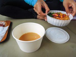 Hidden Mie dish at Go Wet Waterpark Grand Wisata Bekasi