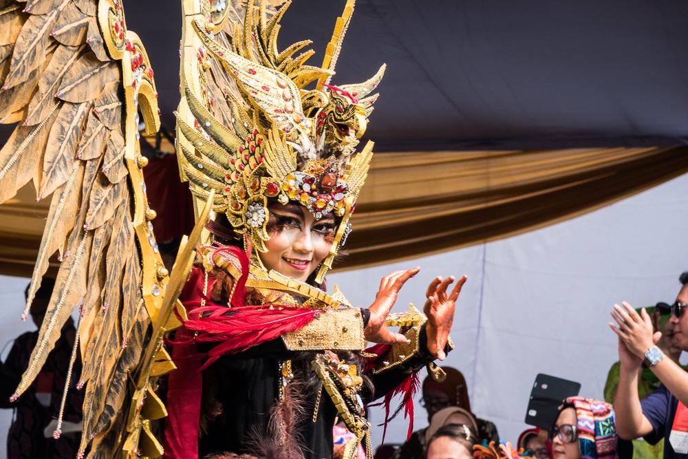 Garuda theme - Visit Jember Fashion Carnaval 2016
