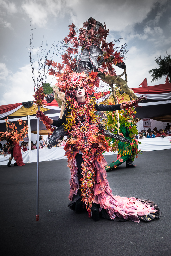 Forest theme - Visit Jember Fashion Carnaval 2016