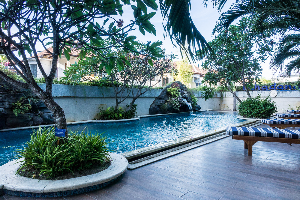Rhadana Hotel Pool - Halal tourism arrives in bali at Rhadana hotel