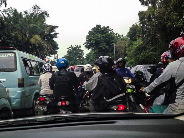 Traffic jam - Ring of Fire An Indonesian Odyssey Book Review