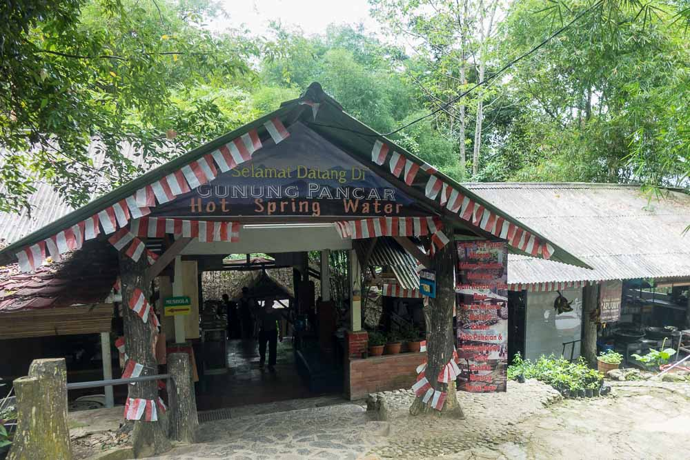 visit Gunung Pancar Hot Springs