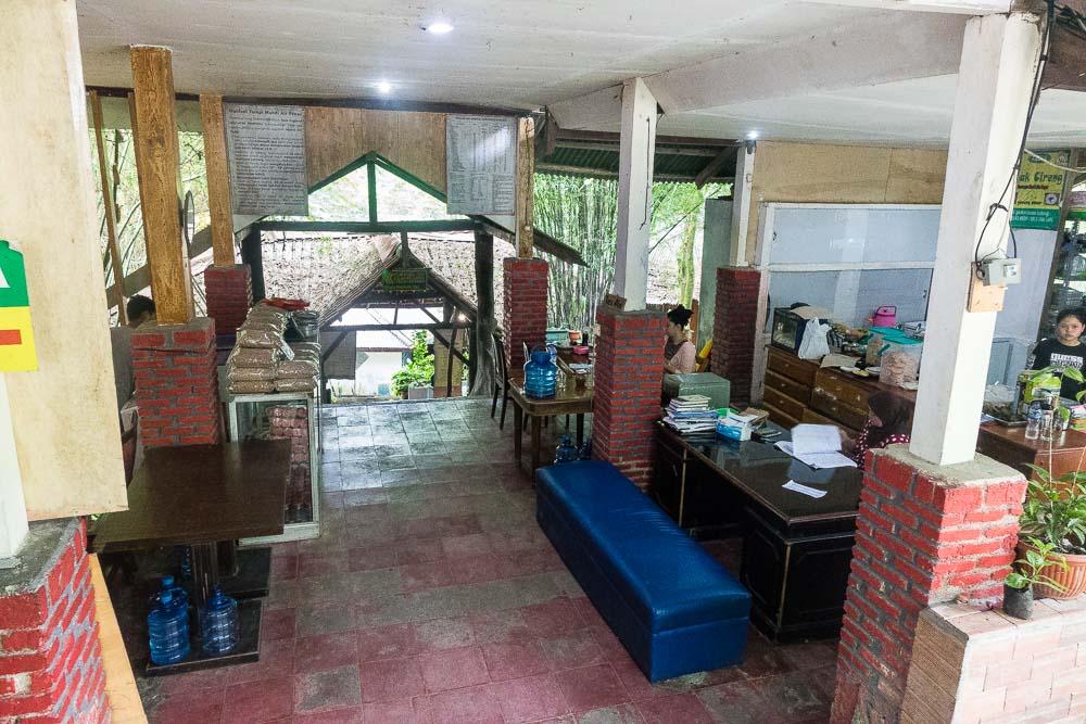 The cafe and health food store - visit Gunung Pancar Hot Springs