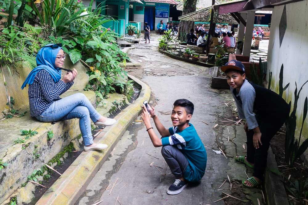 Selfie time - of course - visit Gunung Pancar Hot Springs