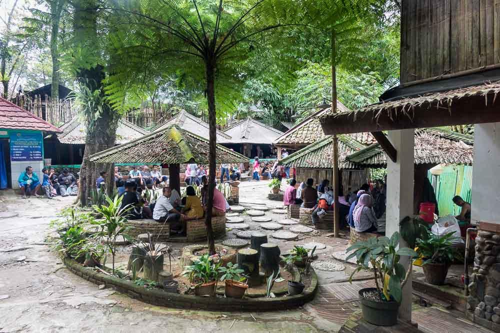 Hang out area - visit Gunung Pancar Hot Springs