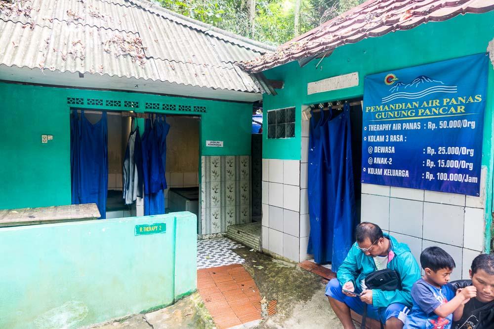The special treatment - visit Gunung Pancar Hot Springs