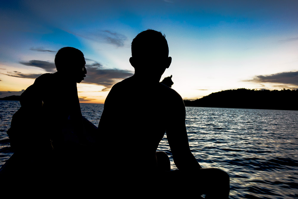 Bloggers shooting the breeze - Island Hopping and Scuba Diving in Togean