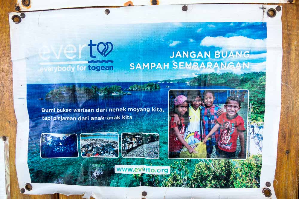 Trash initiative - Island Hopping and Scuba Diving in Togean