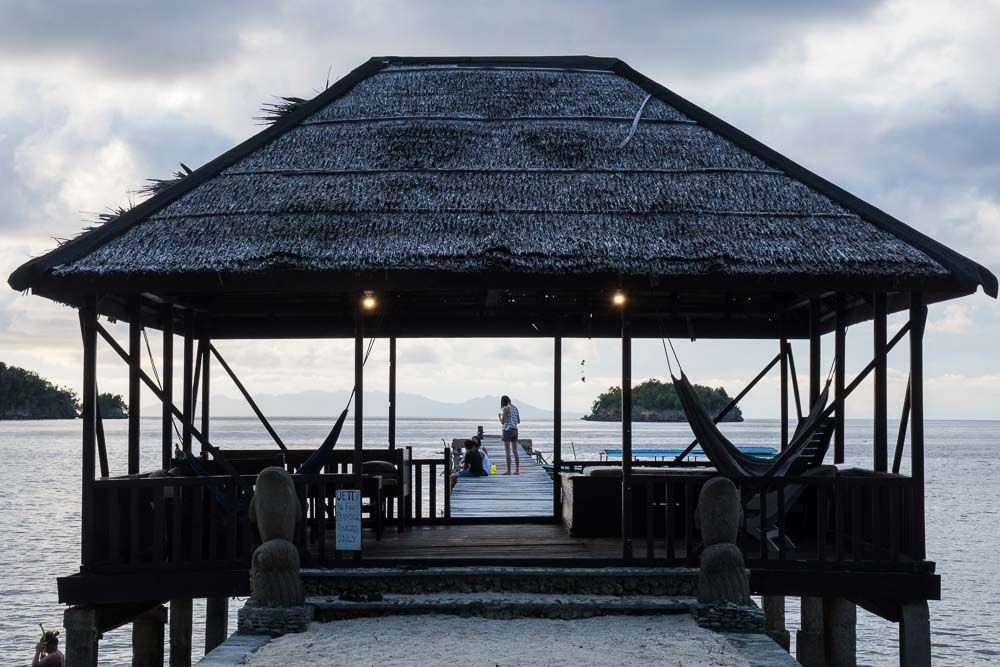 Kadidiri Paradise Resort Jetty - Island Hopping and Scuba Diving in Togean