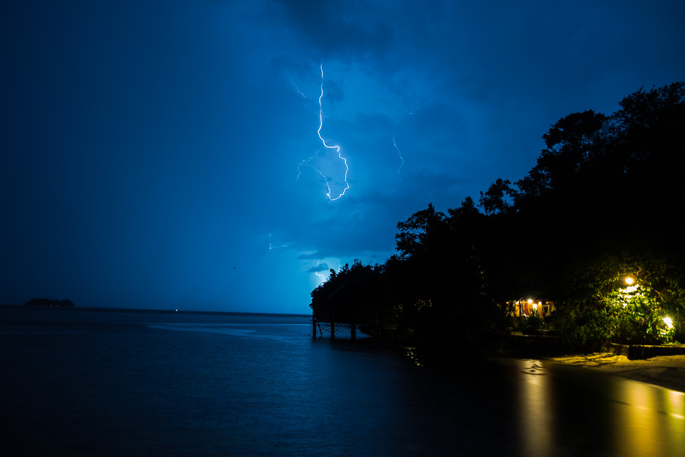 Lightning at Kadidiri - Island Hopping and Scuba Diving in Togean