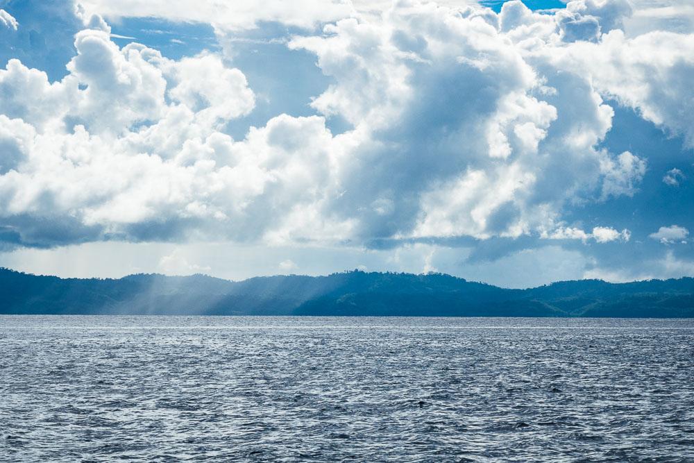 Rain on the horizon - Morotai Island