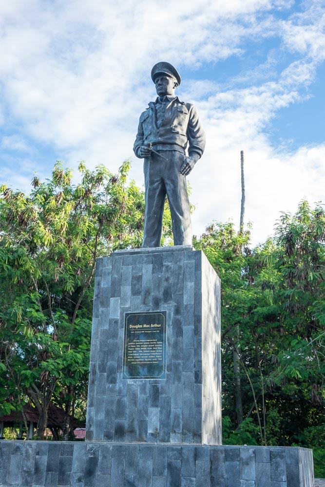 McArthur Statue - Morotai Island
