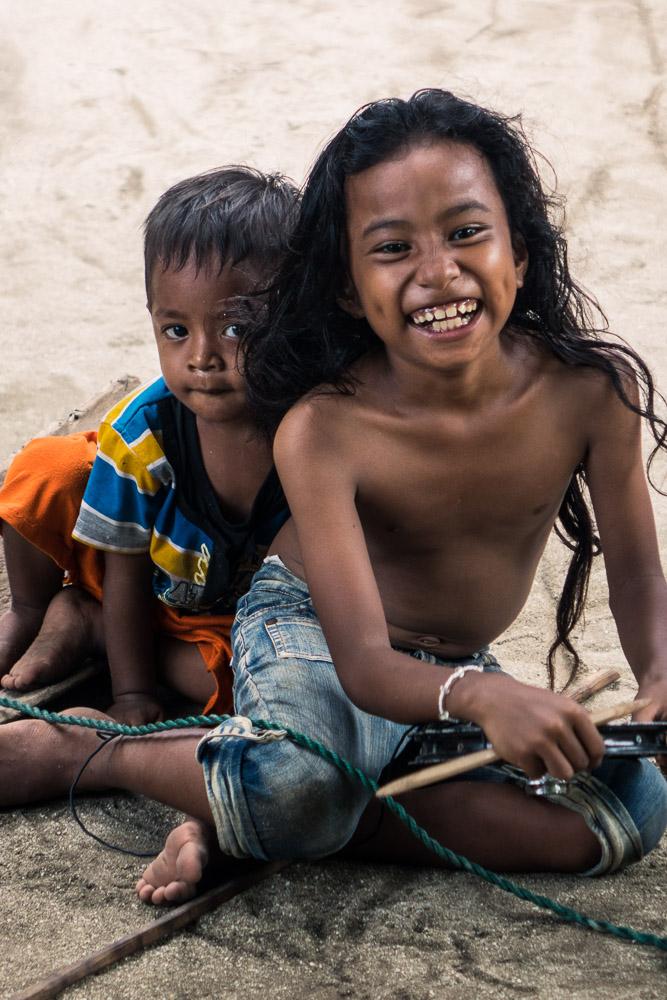 Village kids #1 - Morotai Island