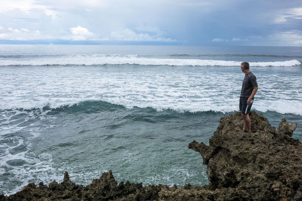 Waiting for the wave - Morotai Island