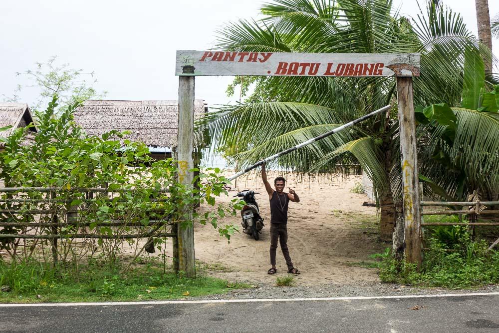 Batu Lobang or Holey stone - Morotai Island