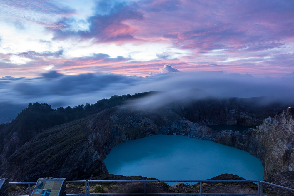 Morning in Kelimutu