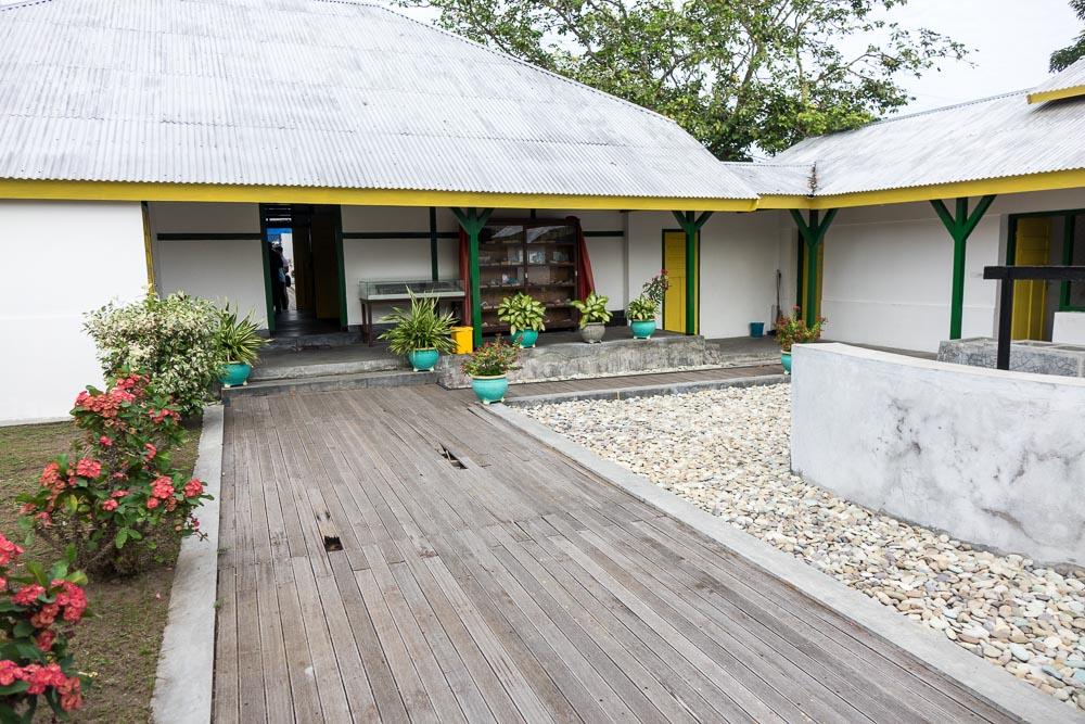 Soekarno's garden