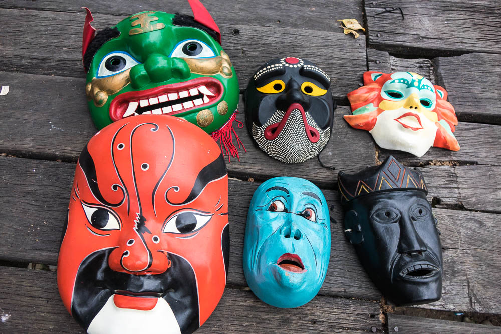 Masks in Parade