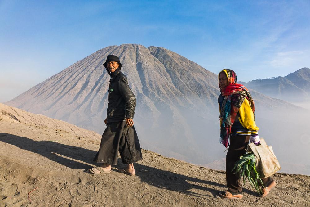 Climbing Bromo - Yadnya-Kasada