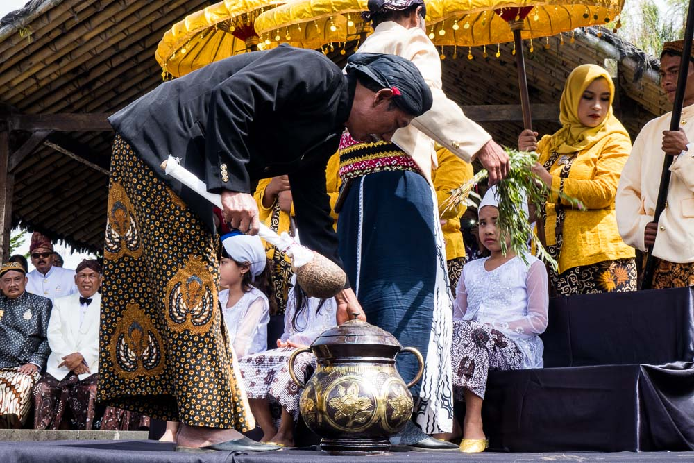 Sacred water - Dieng Culture Festival