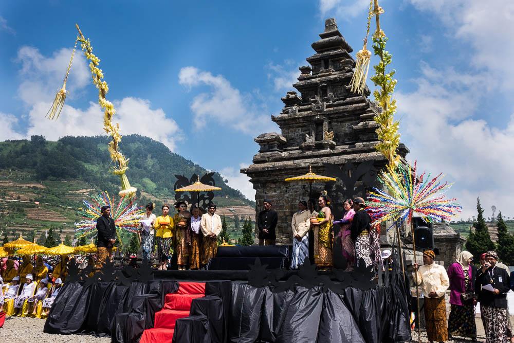 The Arjuna Temple - Dieng Culture Festival