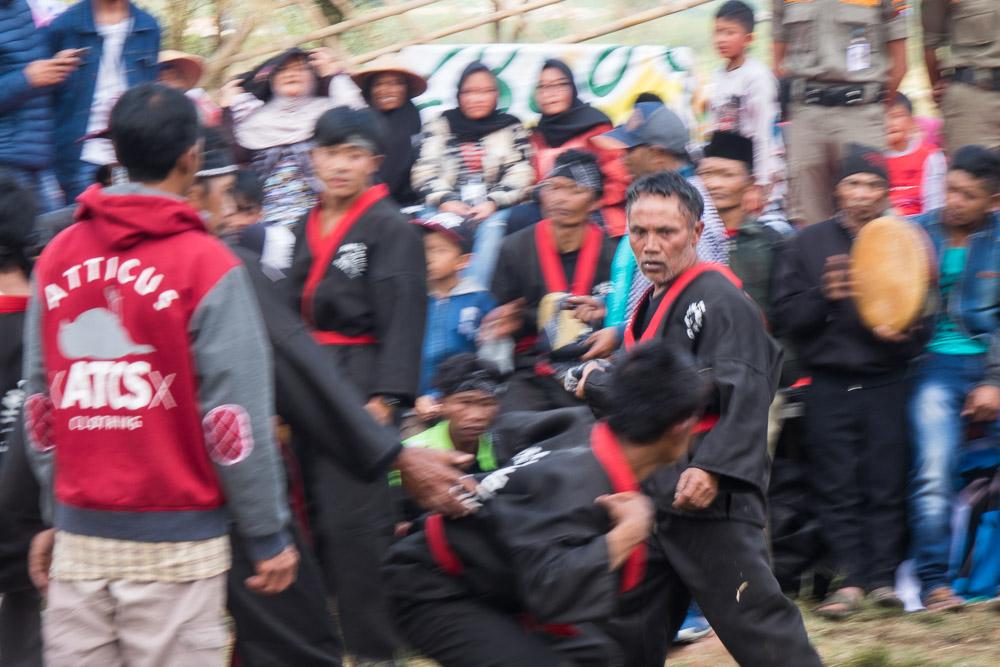 Silat trance - Dieng Culture Festival