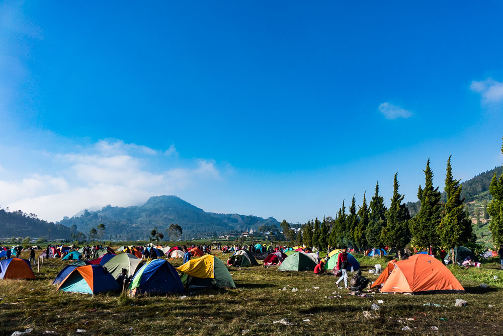 The aftermath of the festival - Dieng Culture Festival