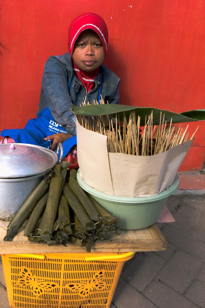 Sate seller - Dieng Culture Festival