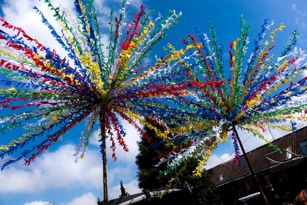 Paper fireworks - Dieng Culture Festival