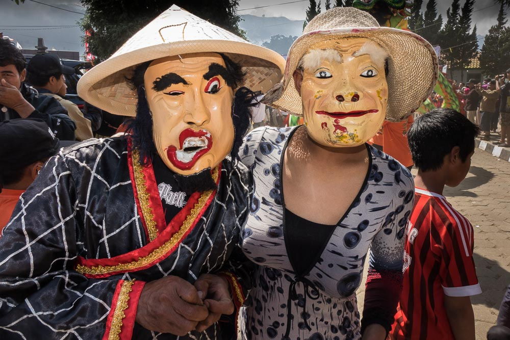 The ugly sisters - Dieng Culture Festival