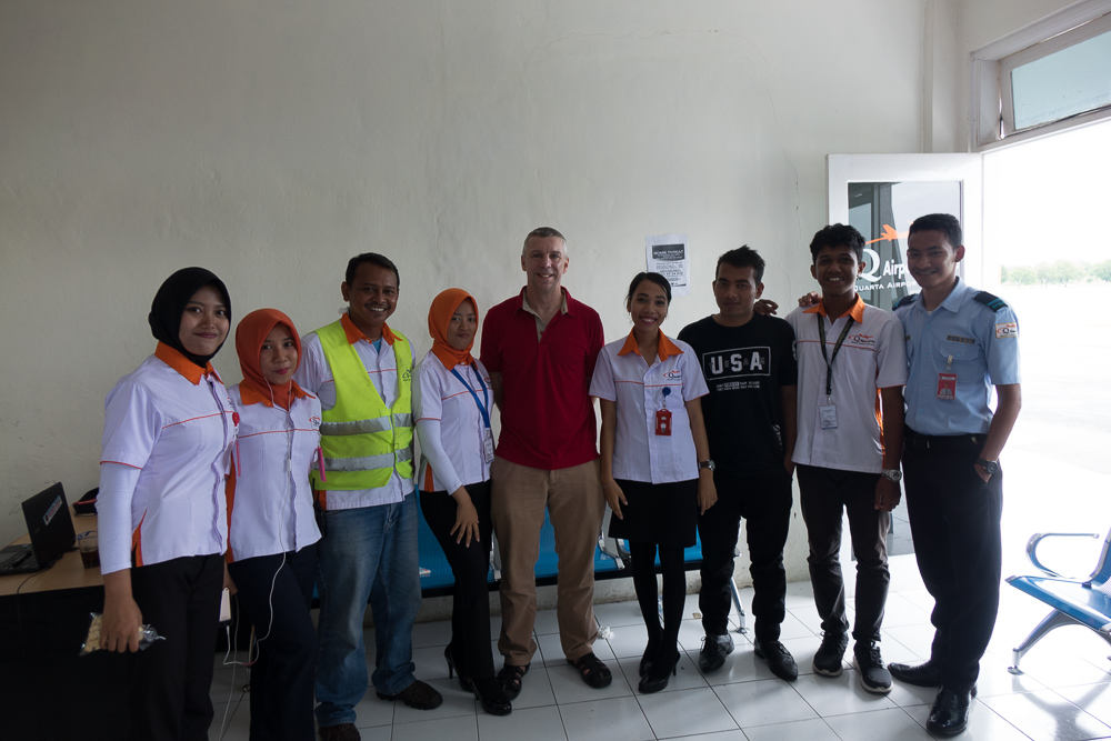 Thank you to the airport crew! - Tasikmalaya October Festival