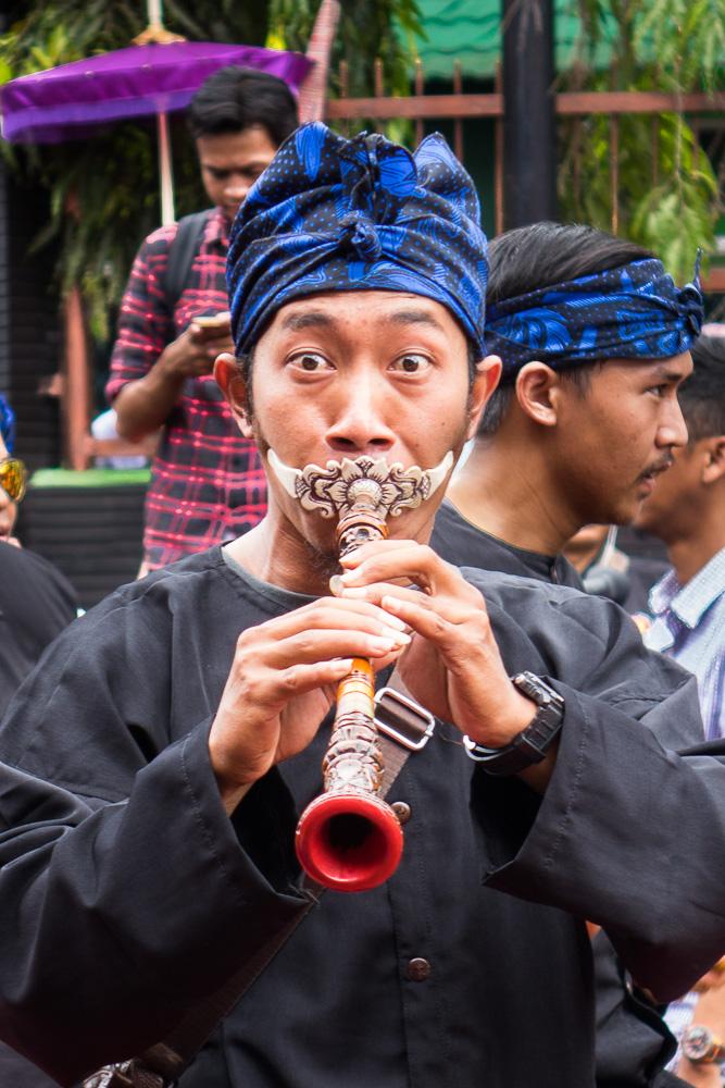 Strange flute - Tasikmalaya October Festival