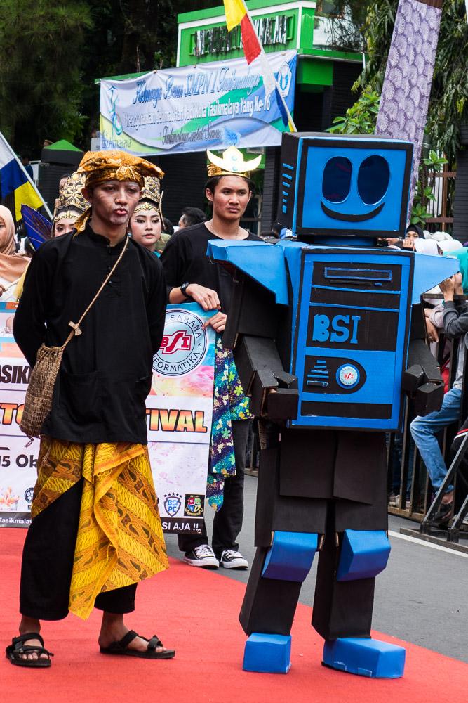 BSI Robot - Tasikmalaya October Festival