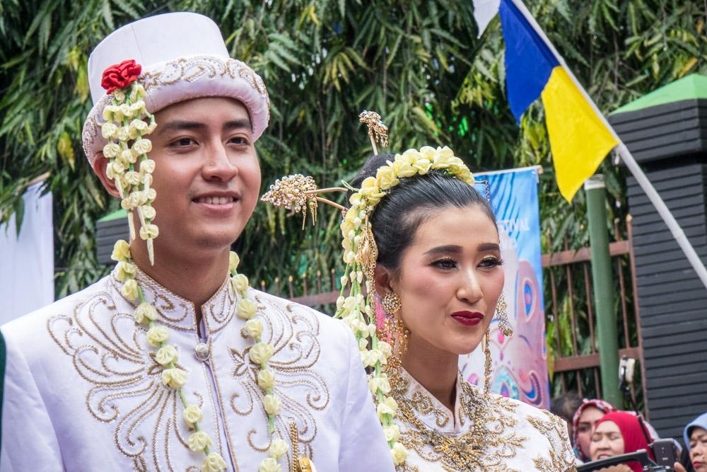 The wedding couple - Tasikmalaya October Festival