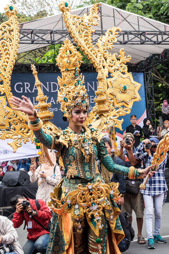 The queen of Jember fashion Carnaval - Tasikmalaya October Festival