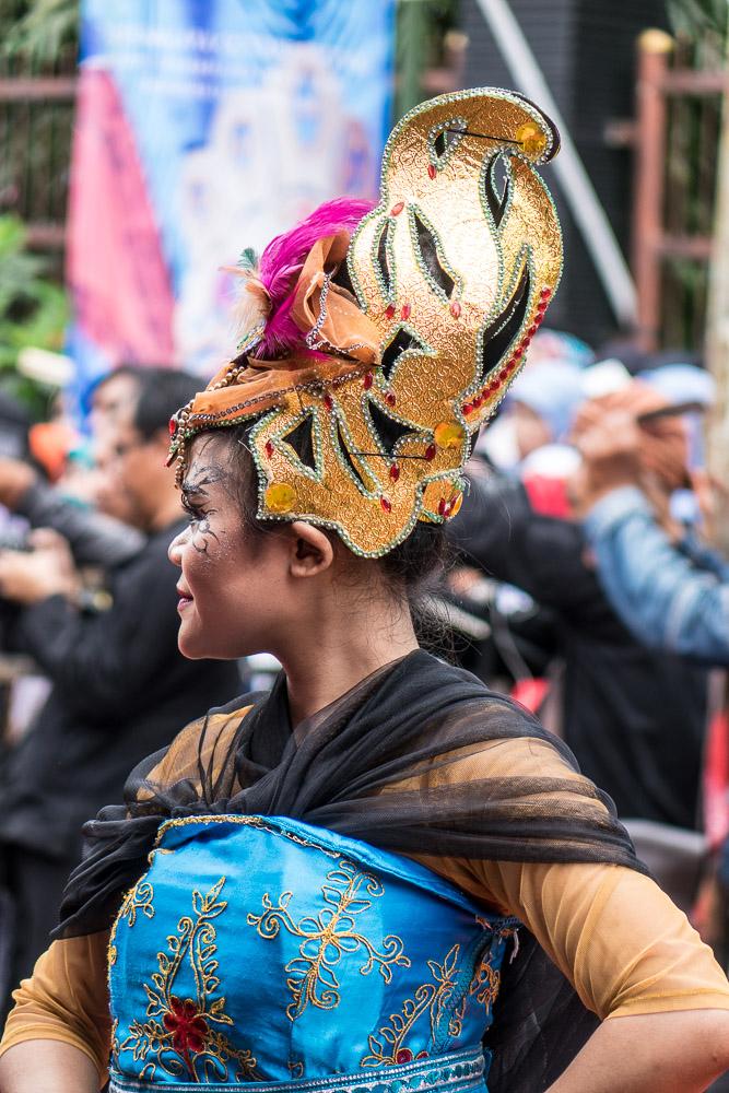 Elaborate hat - Tasikmalaya October Festival